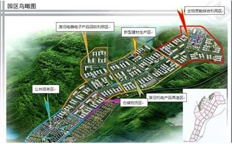 源产业园区规划图